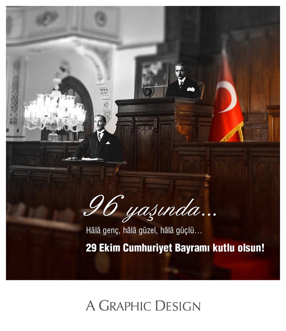29 Ekim Cumhuriyet Bayramı kutlu olsun! #29Ekim #CumhuriyetBayramı https://t.co/bYnBCxkjlF