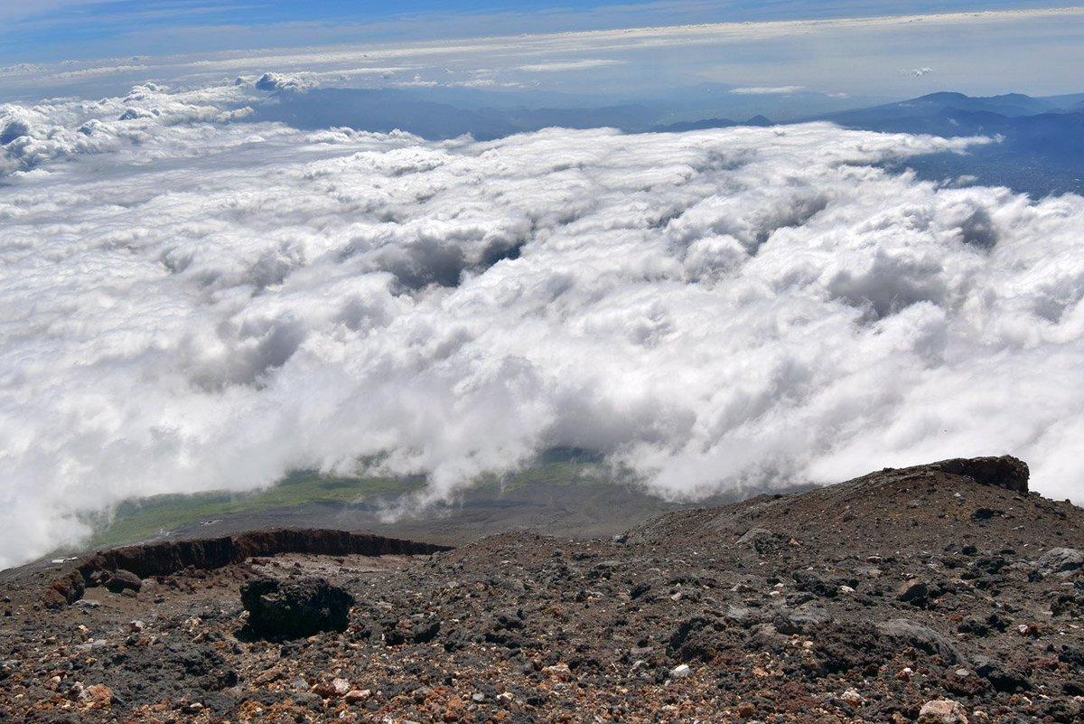 ニコニコ 富士山