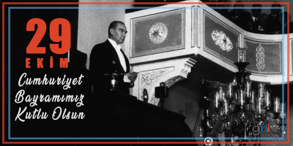 29 Ekim Cumhuriyet Bayramımız kutlu olsun! 💫 https://t.co/lBdw4qJJwW
