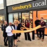 Image for the Tweet beginning: The new Sainsbury's Local store