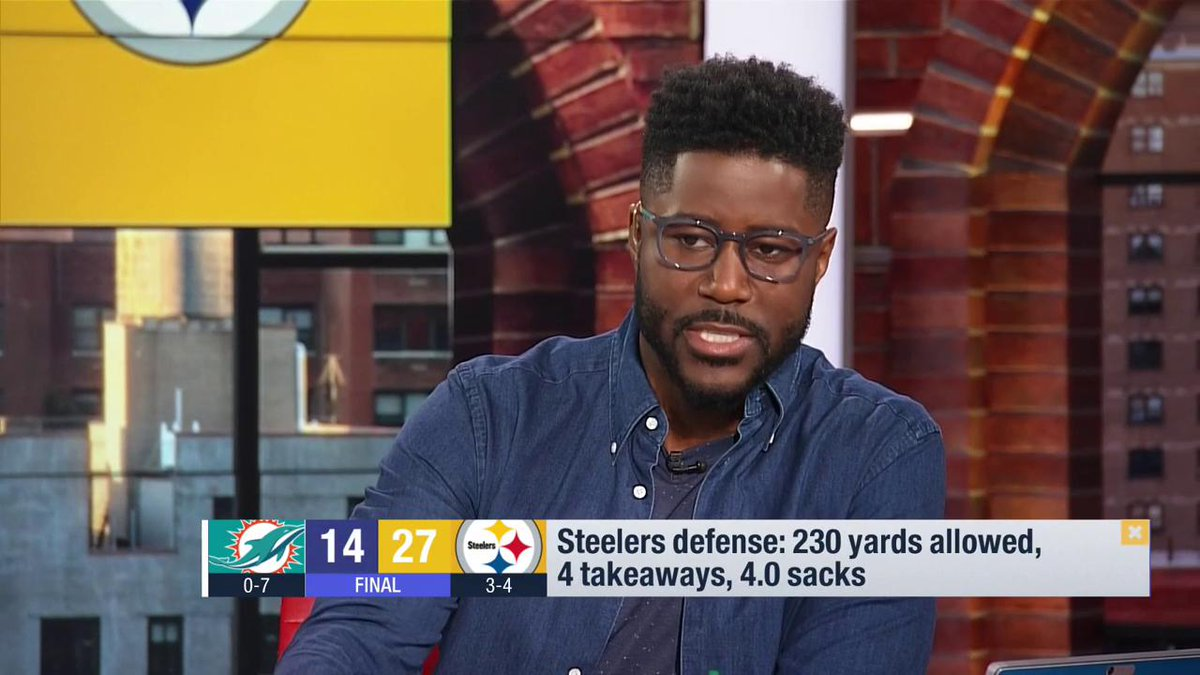 This isnt a team thats given up on the season. This is a team that realizes theyve been through a lot but theres still a ton of season left. All of a sudden the Pittsburgh Steelers look like the Pittsburgh Steelers. --@nateburleson