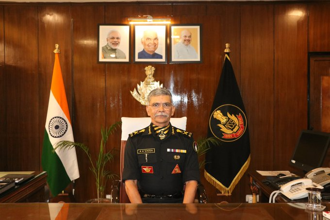 AK Singh takes charge of the office NSG DG