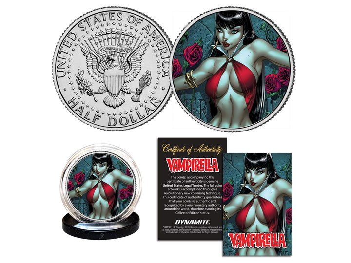 Nice coin  https://t.co/5hufN5qFJA  #Vampirella #Coin https://t.co/cpNmvEDpVF