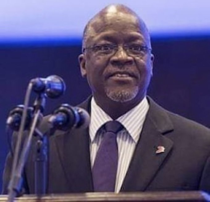 Happy birthday our president Dr John Pombe Magufuli wish you prosperity