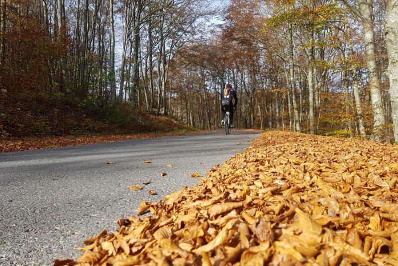 Luca Vignazia, ultima tappa in bici lungo la Jadra...