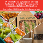 Image for the Tweet beginning: Our International Symposium on #FoodPackaging