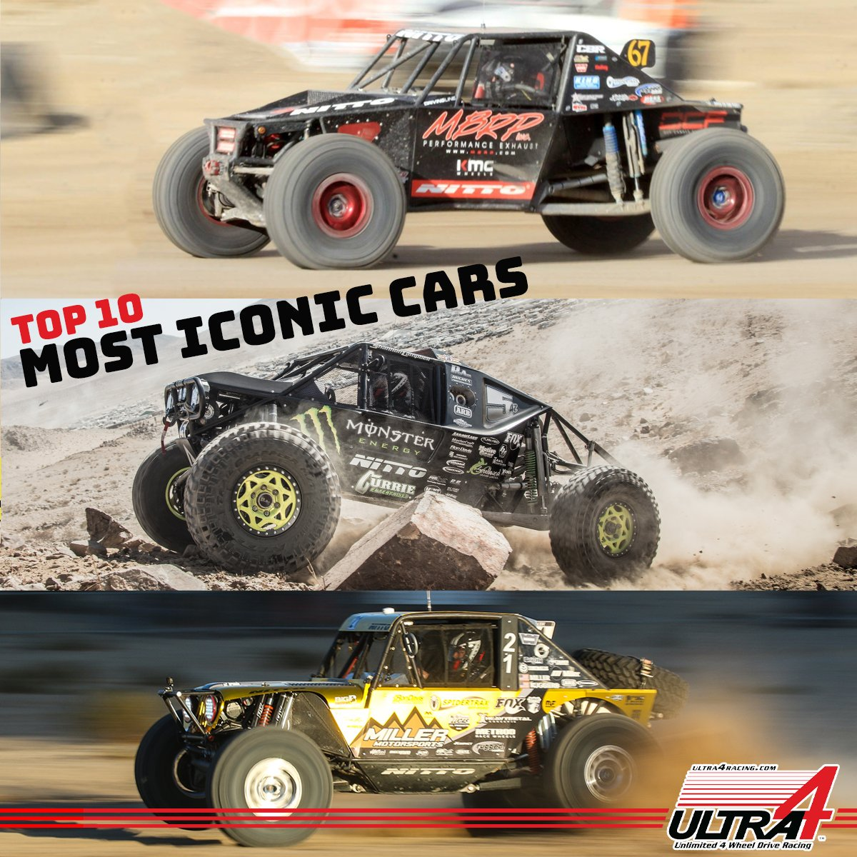 Do you have a favorite rig in Ultra4? Nominate it for it to be featured in the Top 10 Most Iconic Cars feature set to drop leading up to #KOH2020! m.facebook.com/story.php?stor… #Ultra4 #KingoftheHammers #MostIconicCar