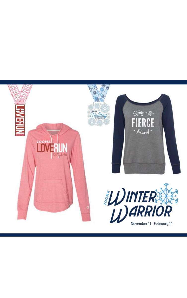 Stay fit & fierce this winter! Join Coach Marcia for the ZOOMA Winter Warrior Challenge! Beat the 10/31 price increase and score bonus swag!  http:// zoomarun.com    <br>http://pic.twitter.com/HbUippyPl4