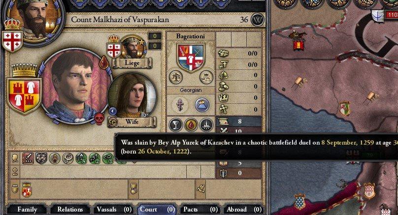 クルセイダーキングス2:ジョージア王国興亡記(3)狂王ギオルギ4世