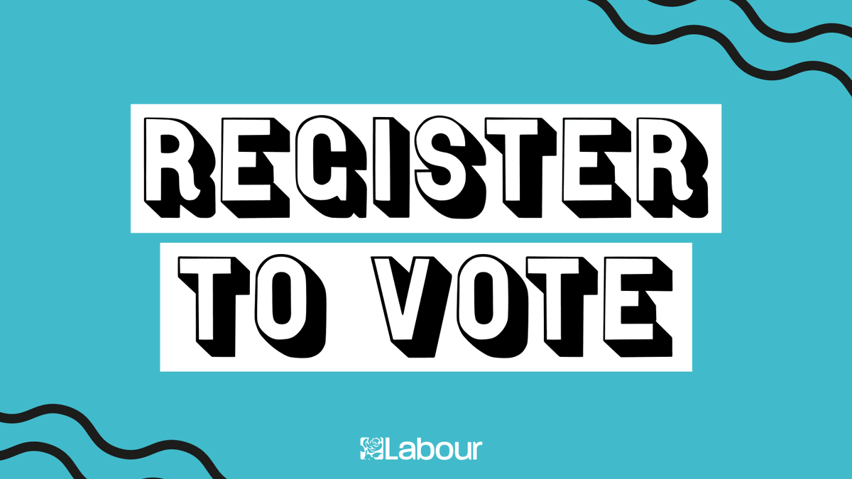 🏁 The fight for real change is on. Register to vote. 🏁
