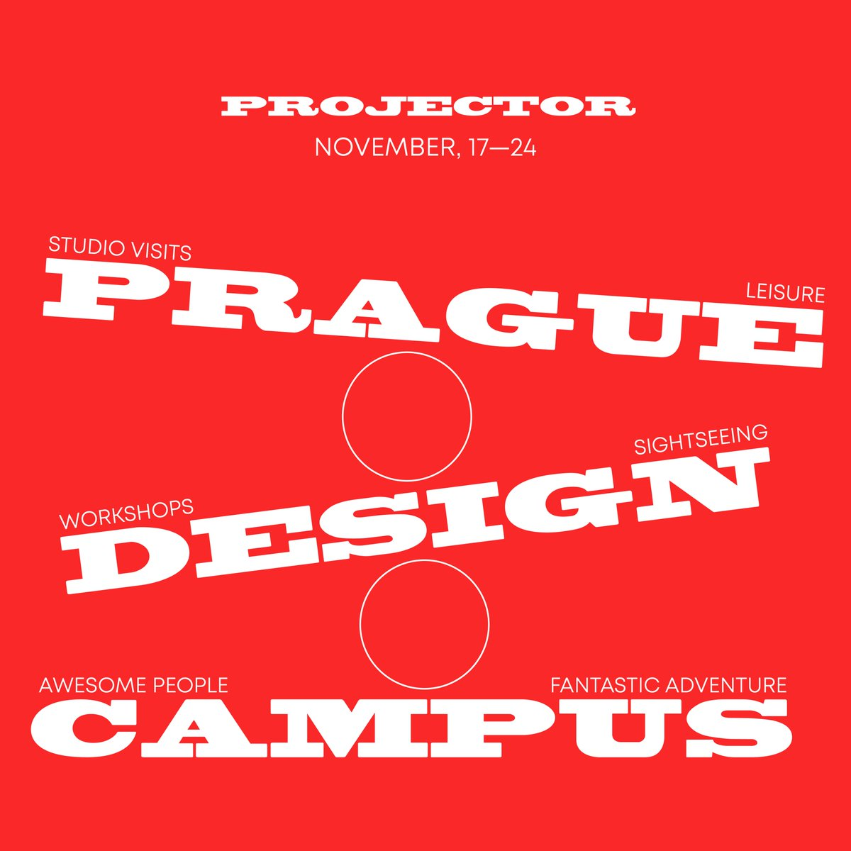 From 17 to 24th of November we are going to Prague! Designers, art directors and creatives — join us for a fun week full of intensive workshops and lectures, exclusive office tours, informal meetings with local designers and a lot of beer. Few spots left: https://t.co/fe3ETOzM3r https://t.co/M4jJeuZN1N