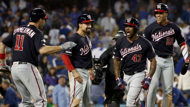 All year, the #Nats have played their best baseball when they're down for the count & have nothing to lose. Think late May, June, the NL Wild Card Game & #nldsgame5. Stay tuned & #STAYINTHEFIGHT . #WorldSeries