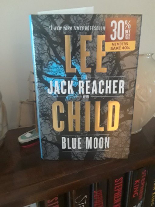 Happy Birthday Lee Child, just pick up the new Jack Reacher book, \Blue Moon \