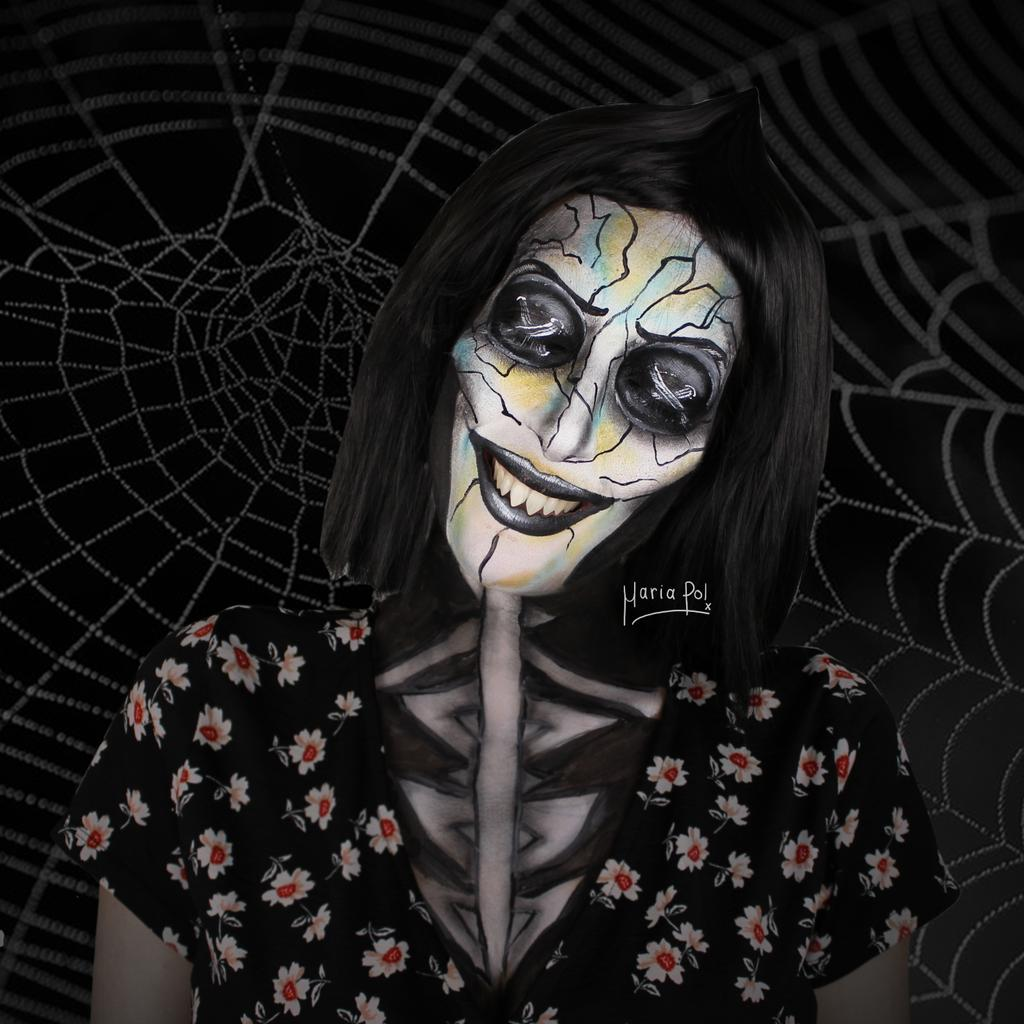 Maria Pol On Twitter Beldam A K A The Other Mother From Coraline Follow Me On Ig For More Mariapoool Makeup Facepaint Coraline Halloween2019 Halloween Beldam Movie Https T Co Vhtfsticri