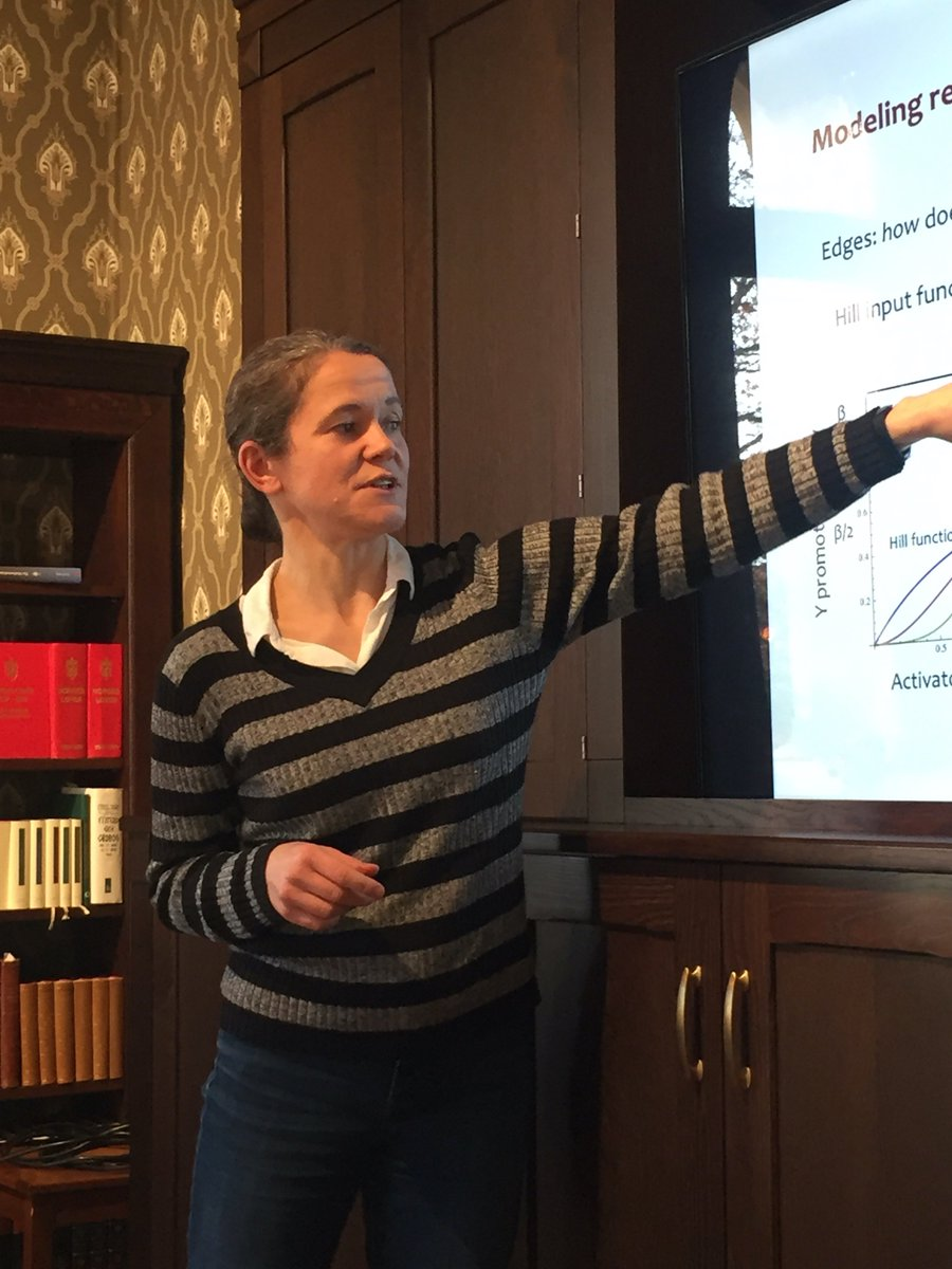 Great talk by Mihaela Pavlicev today about #Evolvability from the systems' perspective at @CASOslo. You can watch the talk here: