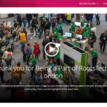 Image for the Tweet beginning: Rootstech London : un congrès