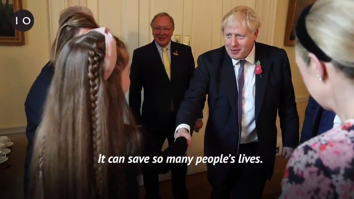 Isabelle Bibb is one of thousands of people with cystic fibrosis who will benefit from new treatment on the NHS. PM @BorisJohnson spoke to Isabelle about the impact this will have on her life.