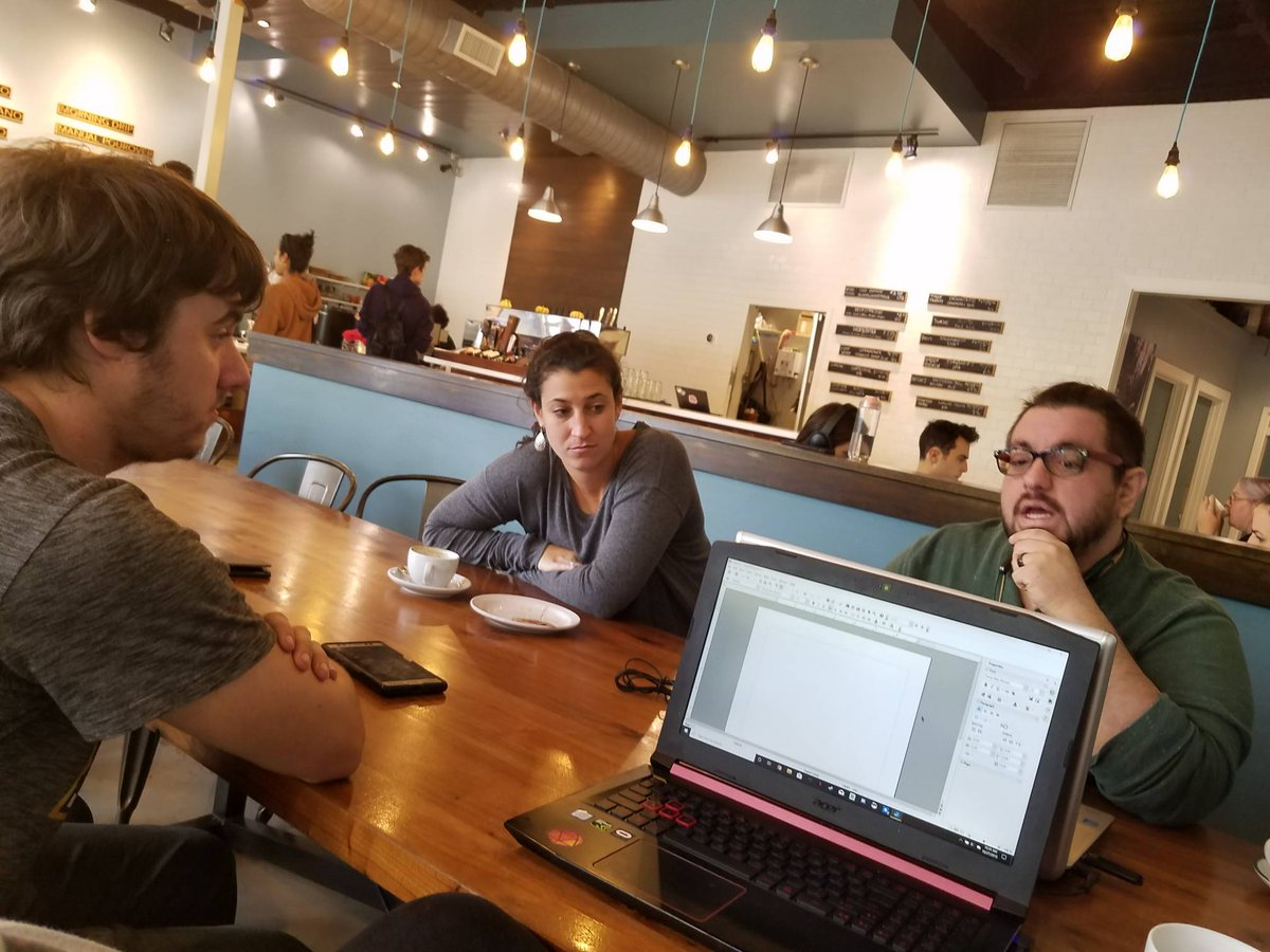 The #ArcheTechs got together on Sunday to work on the logistics for #NobodyWins. Crazy to think we start #filmingsoon!#Georgiafilm #atlantafilmmaker #indiefilmmaker #indiefilmpic.twitter.com/AIGvVmyIsW