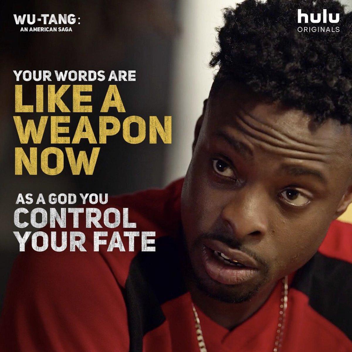 Now you can binge-watch the series on @Hulu. Which was your favorite episode? #wutang #wutangonhulu #rza