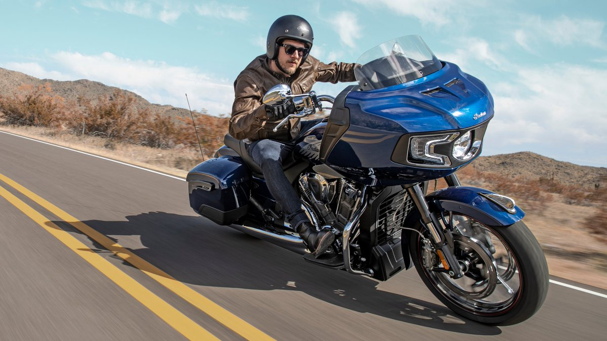 Press Release: Indian Motorcycle Pushes American V-Twins Forward With The All-New 2020 Challenger – The Ultimate American Bagger https://t.co/xomGsJUQTf https://t.co/xmuWklROY7
