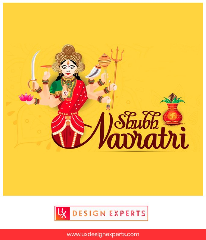UX Design Experts wishes you a very Happy Navratri #navratri #holiday #celebration #happynavratri