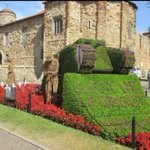 Image for the Tweet beginning: Magnificent display in Colchester Castle