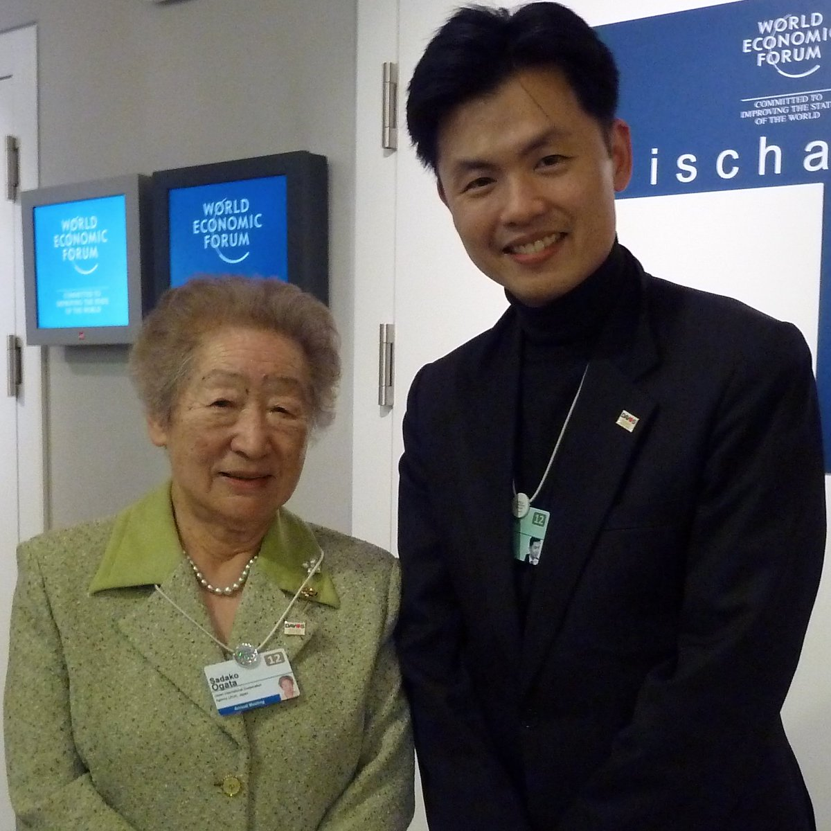 Sadako Ogata, one of the people I respect the most in the world, has passed away.  Her tireless work for refugees and those lacking human security was an inspiration for all of us.  緒方貞子さん、私が最も尊敬する方でした。 とても残念で、悲しいです。 心よりご冥福をお祈り致します。