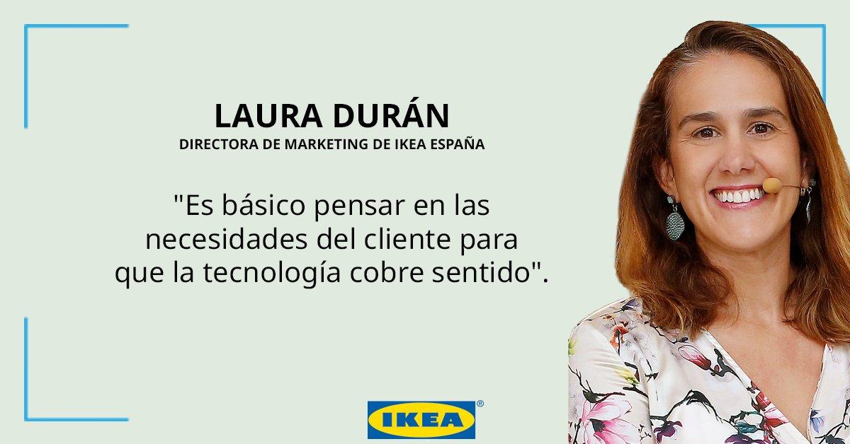 Nuestra directora de marketing, Laura Durán, está hoy en el encuentro#RetinaLTD19 de @elpais_retina hablando sobre la transformación del sector retail y su adaptación a la nueva experiencia de usuario. https://t.co/h8BKG9QXRT