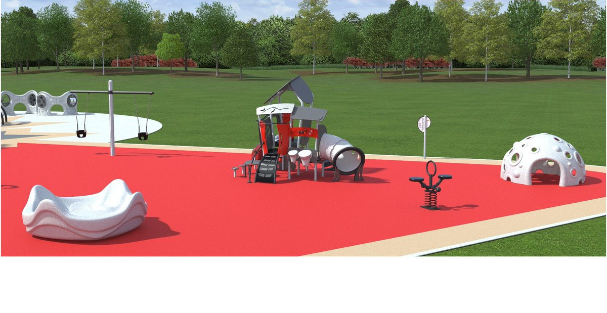 We are so ready to see the @CityOfEdmonton out and playing on the inclusive #JumpstartPlayground. The playgrounds are designed to accommodate physical, cognitive and sensory disabilities, providing a place where kids of all abilities can play side-by-side! #InclusivePlayProject
