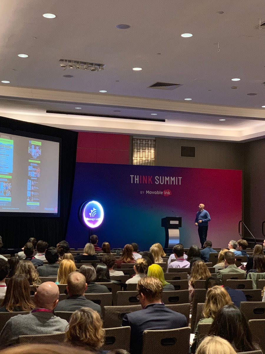 How do you engage a massive audience full of niche fans? It's all about pulling in that real-time content from your pre-existing data sources. Just be sure to personalize! #ThinkSummit