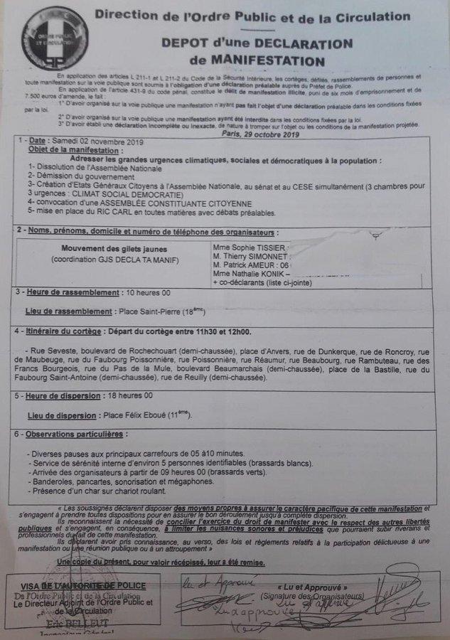 Deux rassemblements déclarés à Paris pour l'acte 51 des Gilets jaunes EIEMtDPXkAAsmil?format=jpg&name=900x900