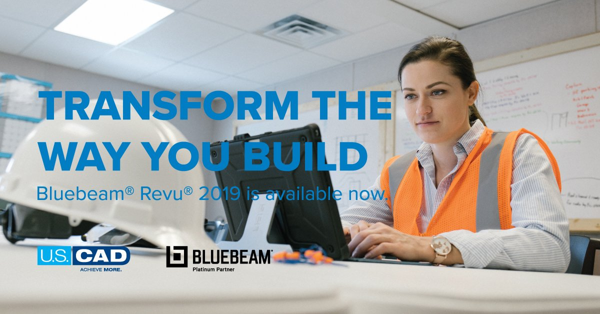 Image for the Tweet beginning:  #Bluebeam Revu 2019 is
