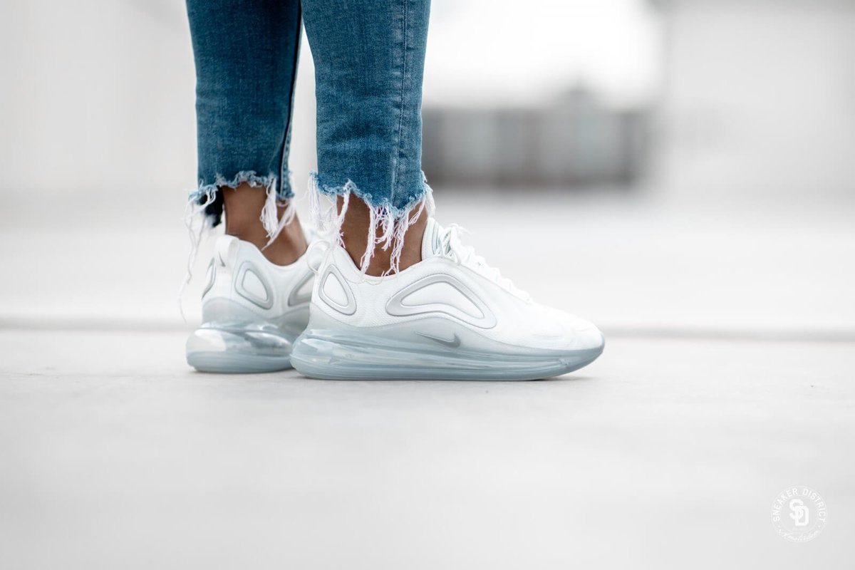 Nike Air Max 720 White On Feet Off 71 Bonyadroudaki Com