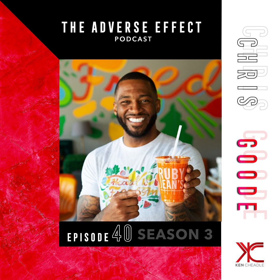 Chris Goode tells his journey to becoming the founder of Kansas City's #1 health food establishment Ruby Jean's Juicery. #RubyJeansJuicery #Entrepreneurship #HealthyLiving #BlackOwnedBusiness #TheAdverseEffect #KenCheadle #AdversityExpert #AdversitySurvivor #AdversityAdvocatepic.twitter.com/q38Bdubuh9