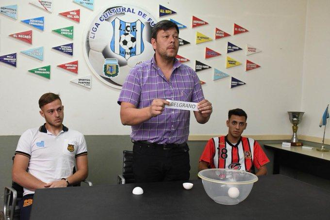Sortearon la final del Torneo Provincial Sub 20 de fútbol