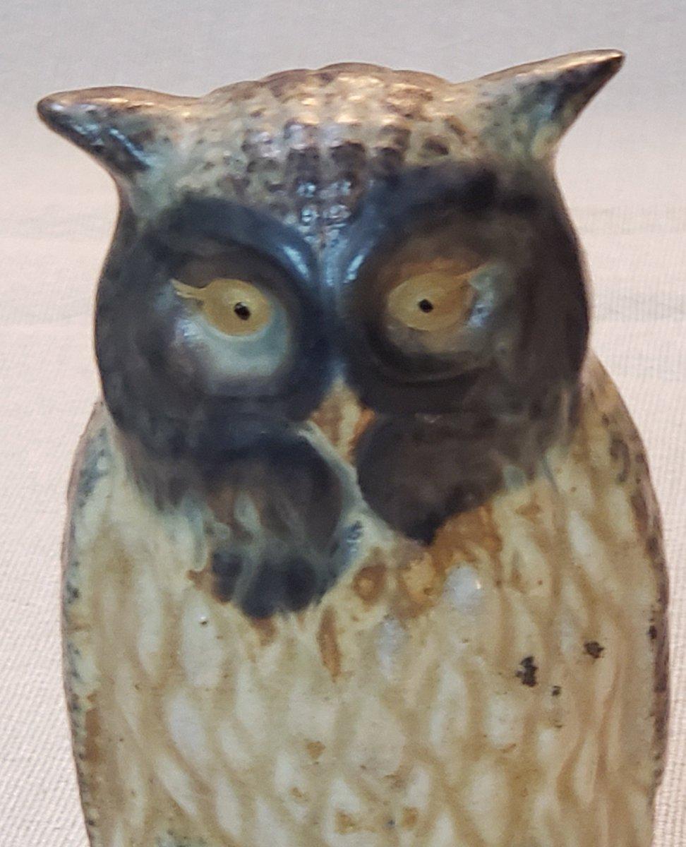 woodland animal home decor attic esoterica on twitter  vintage owl ceramic figurine animal  vintage owl ceramic figurine