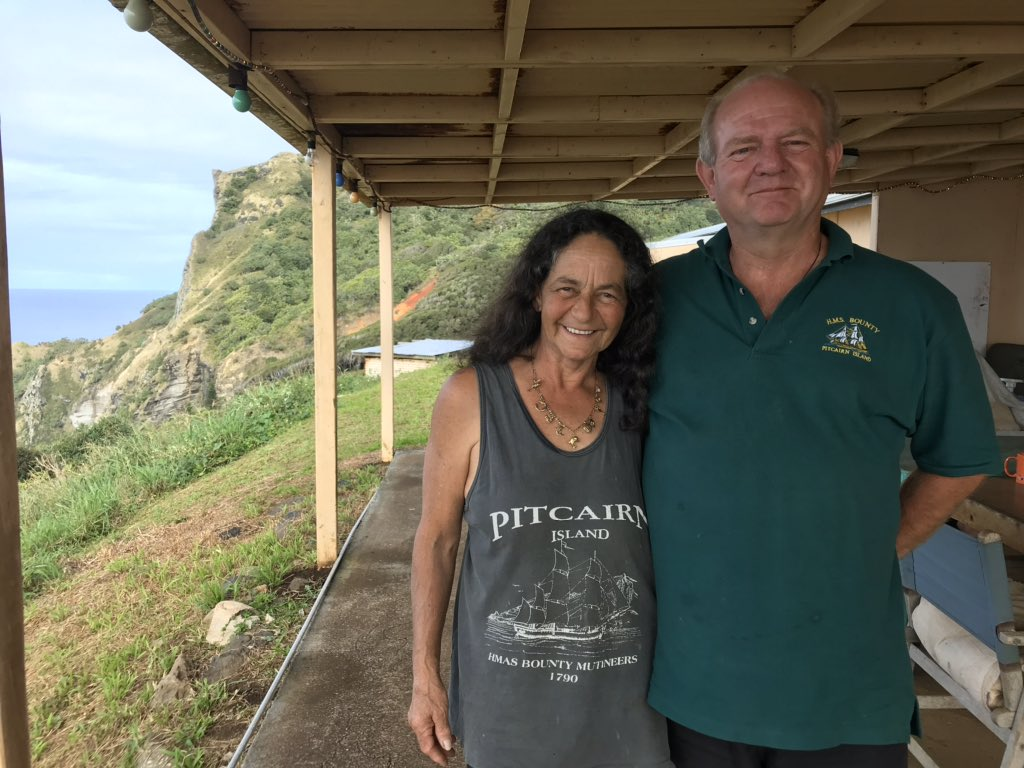 Laura Clarke On Twitter 5 Brenda Christian And Mike Lupton Christian Brenda Grew Up On Pitcairn Lived In The Uk For A While Then Moved Back In 1999 Bringing Mike With Her Brenda