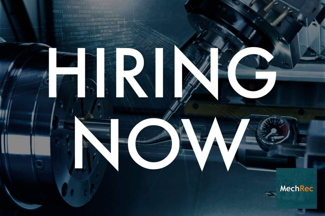 HIRING NOW  Our client, a manufacturing company, is looking to hire a top paid CNC Machinist/Programmer in South Chesterfield, Virginia.  If you are interested in this position, please email Chris Burke: cburke@mechrec.com pic.twitter.com/VHxqWh7iyU