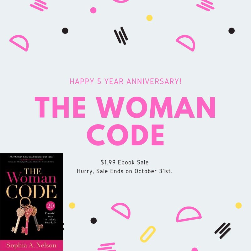 Only 3 days left to get an ebook copy of #thewomancode for just $1.99 everywhere ebooks are sold! Share it. Gift it. Great for the upcoming holidays! #ThereIsACode<br>http://pic.twitter.com/UZEU251VFN