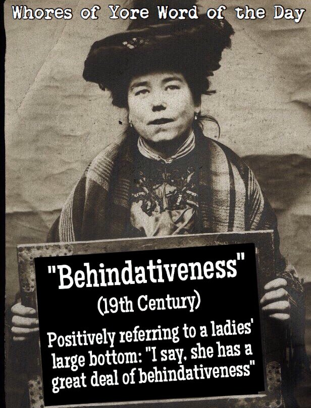 """Word of the Day: """"Behindativeness"""""""