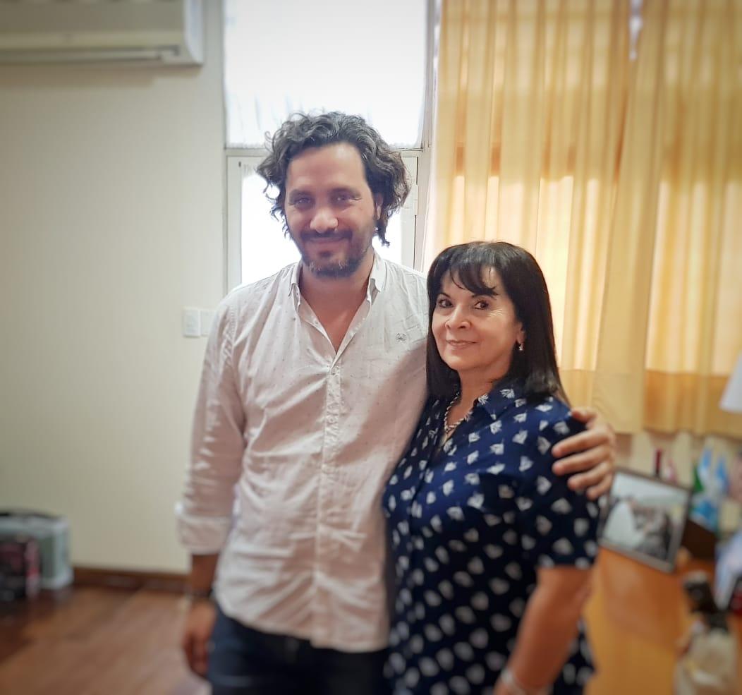 Bienvenido querido compañero @SantiCafiero a nuestra Fundación.Gracias por tu visita!!!