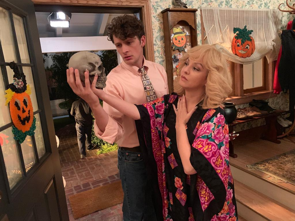 Spooky back-to-back episodes of #TheGoldbergs and @SchooledABC begin TOMORROW at 8|7c! 💀