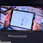 Image for the Tweet beginning: #forumretail 2019: CRM4Retail the clienteling