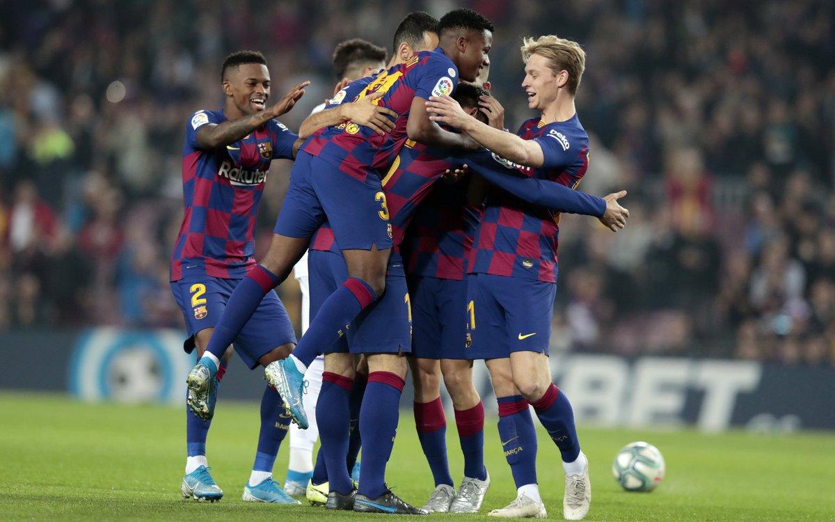 Three more La Liga points for  @FCBarcelona    #FJ21  #Valladolid