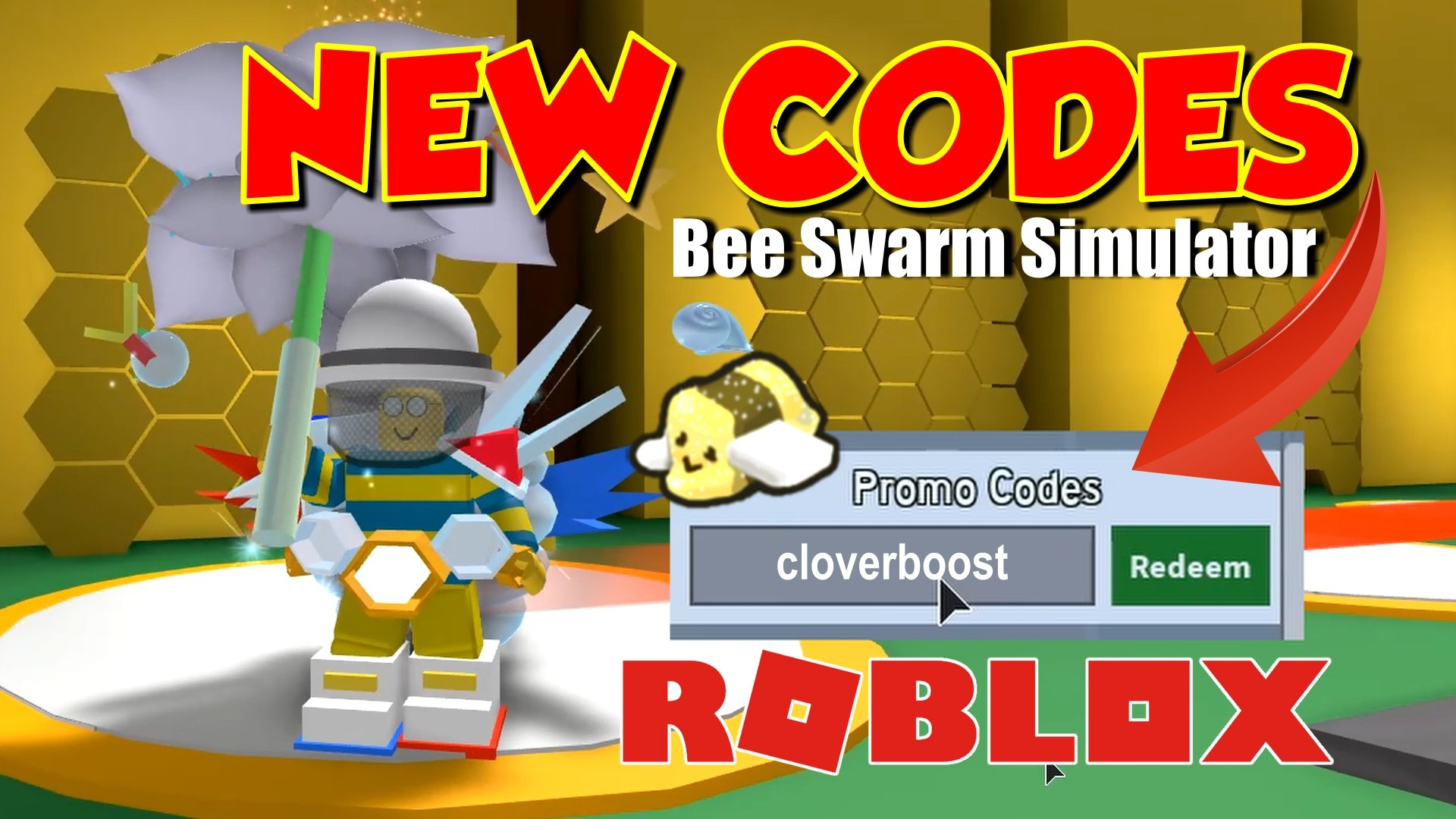 Letsdothisgaming On Twitter New Bee Swarm Simulator Codes Are