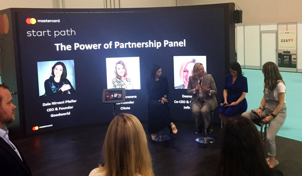 Were celebrating the women that are changing the face of #fintech with the @MAstartpaths The Power of Partnership Panel. #Money2020USA