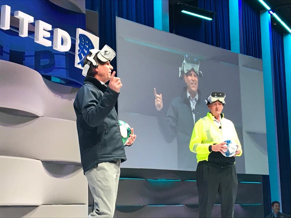 Nice showing of our immersive investigation training and then taken to the big stage! #SafetyWeOwnIt @Steveatunited @DJKinzelman twitter.com/spencer_resh/s…