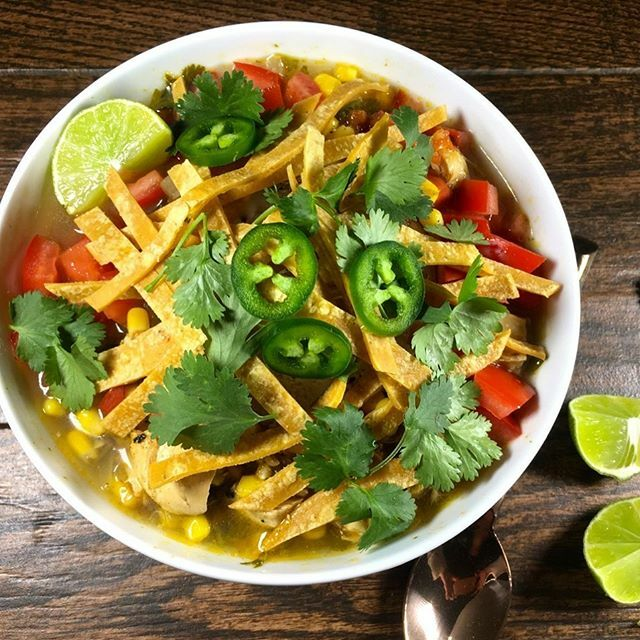 I love soup season!And who doesn't love chicken tortilla soup?We use roasted tomatoes, poblano pepper and jalapeños to give it a deeper level of flavor. Organic sweet corn from @cascadianfarm .Season it with @redmondrealsalt organic seasoned salt a… https://t.co/x0TZtSGXXm https://t.co/V313BoEAEk