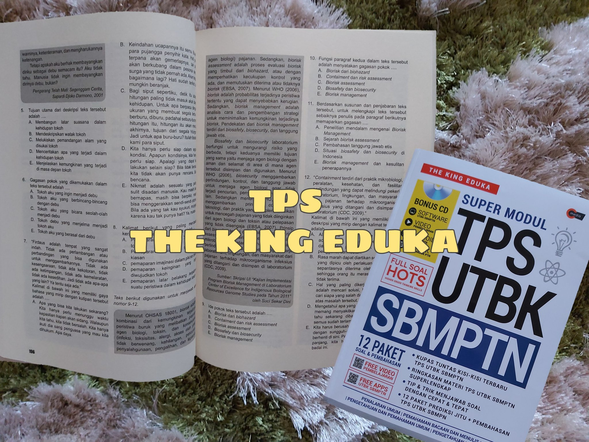 Bismillah Lolos Pilihan 1 On Twitter A Thread Review Buku Tps The King Eduka