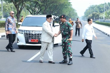 Twitter Prabowo Subianto